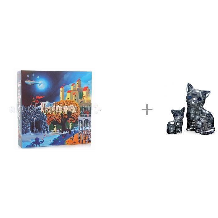 Имаджинариум Настольная игра Stupid Casual и Crystal Puzzle Головоломка Кошка