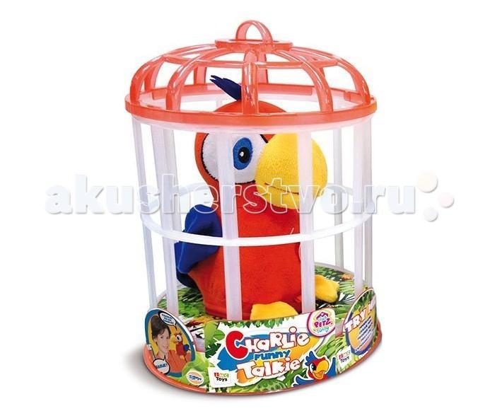 Интерактивная игрушка IMC toys Попугай Charlie