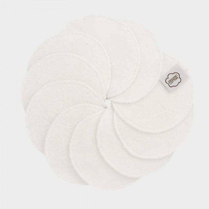 Гигиена для мамы ImseVimse Очищающие диски для лица 10 шт.