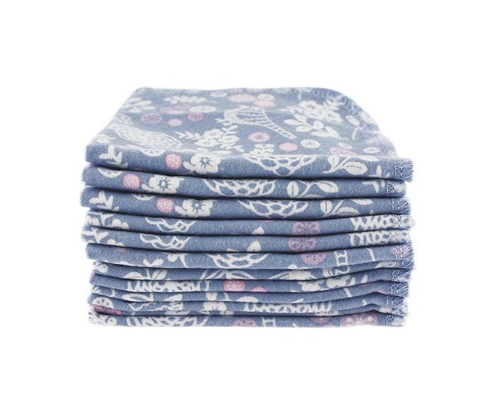 Текстильные салфетки ImseVimse Салфетки многоразовые 12 шт.