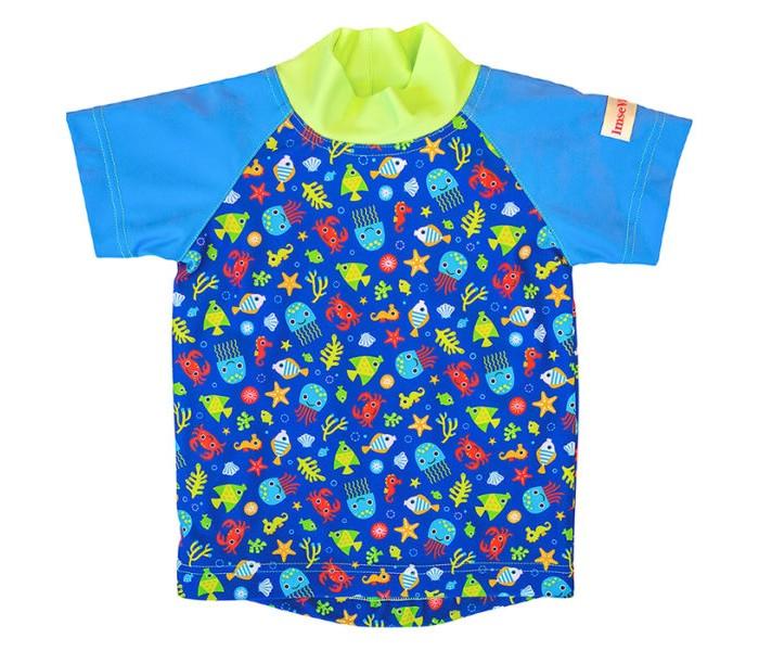 Детская одежда , Купальники и плавки ImseVimse Футболка для купания с принтом арт: 315954 -  Купальники и плавки