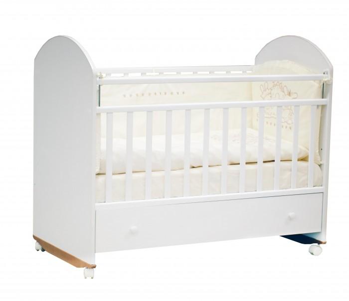Детские кроватки Incanto Bonito с ящиком колесо-качалка