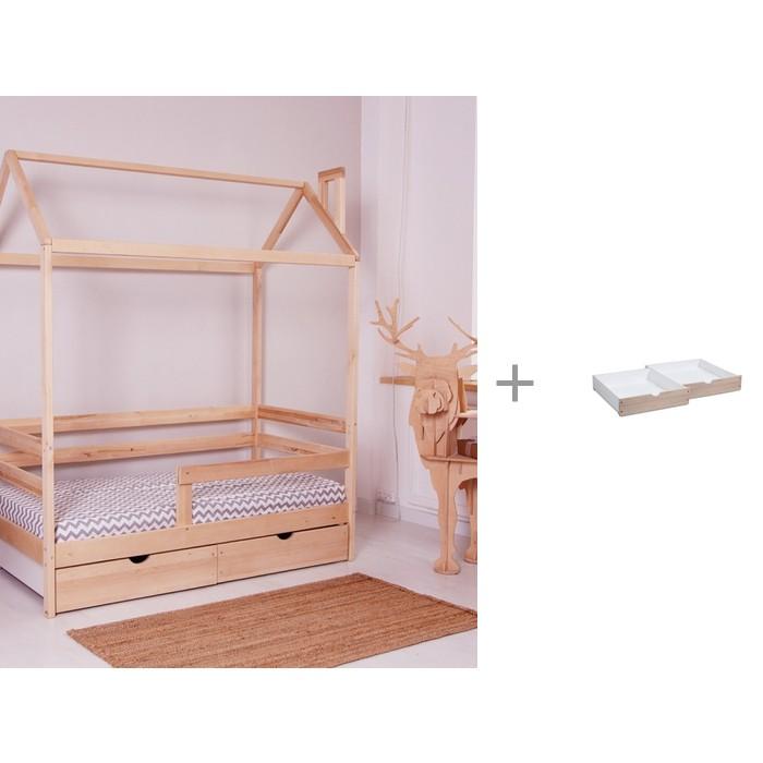 Купить Кровати для подростков, Подростковая кровать Incanto детская DreamHome с 2-мя ящиками для кровати DreamHome