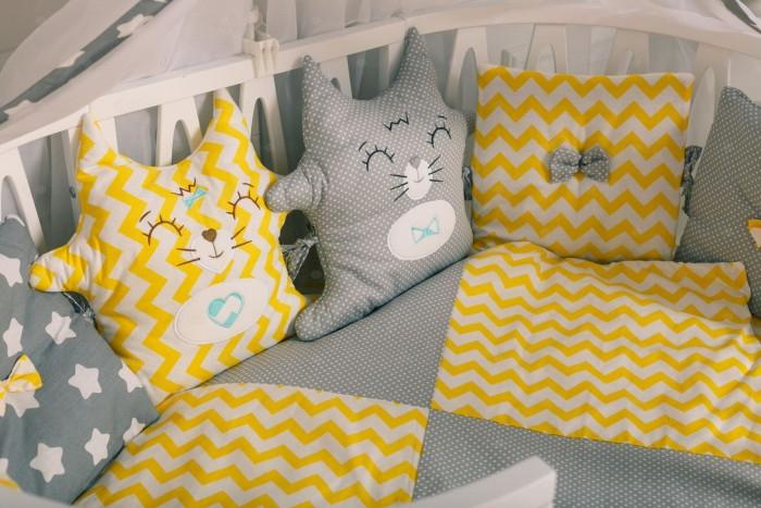 Картинка для Комплект в кроватку Incanto Котята (10 предметов)