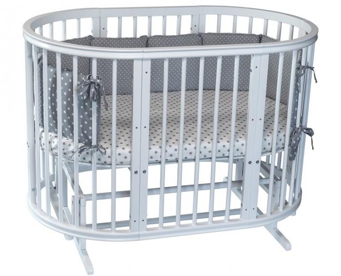Кроватка-трансформер Incanto Estel Exclusive 8 в 1 фото
