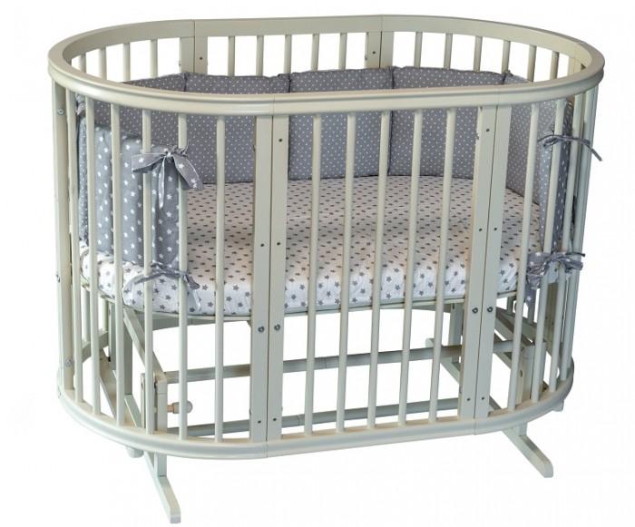 Кроватка-трансформер Incanto Estel Exclusive 8 в 1