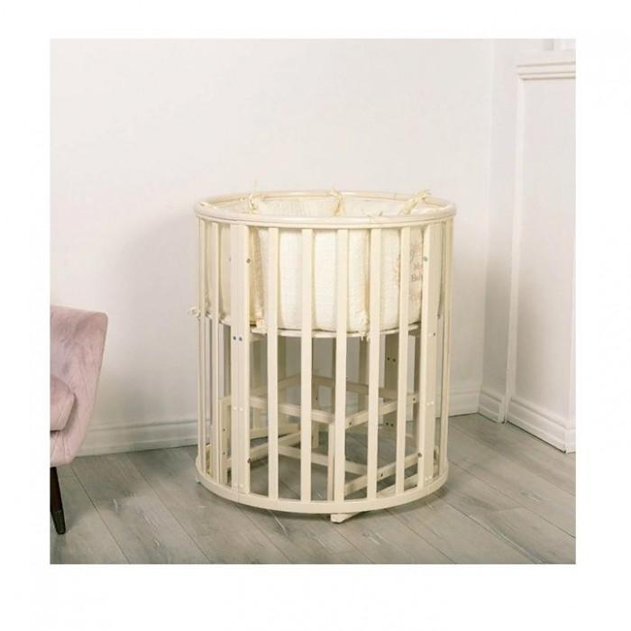 Incanto Маятник 2 в 1 для кровати AmeliaАксессуары для мебели<br>Incanto Маятник 2 в 1 для кровати Amelia - хороший помощник новоиспеченных родителей.  Оптимальной альтернативой укачивания младенца на руках является использование кроватки со специальным маятником. Функциональное приспособление активируется легким движением и плавно раскачивает спальное ложе из стороны в сторону. Маятник 2 в 1 для кроватки Incanto Amelia легко устанавливается. Устройство можно использовать в круглой и овальной кроватке.  Характеристики мебели: подходит для круглой и овальной кроватки Amelia обеспечивает плавное укачивание новорожденного крохи простая установка