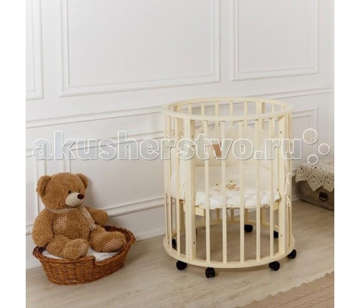 Детская мебель , Кроватки-трансформеры Incanto Nobelёv 7 в 1 арт: 428204 -  Кроватки-трансформеры