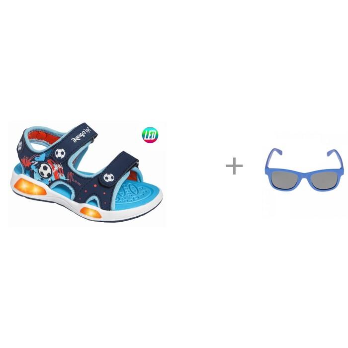 Купить Босоножки и сандалии, Indigo kids Сандалии 22-202 и Солнцезащитные очки Playtoday с поляризацией 12113477