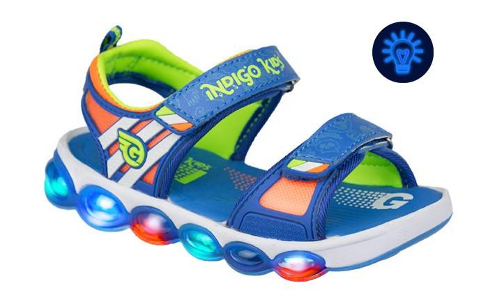 Купить Босоножки и сандалии, Indigo kids Сандалии детские 22-173