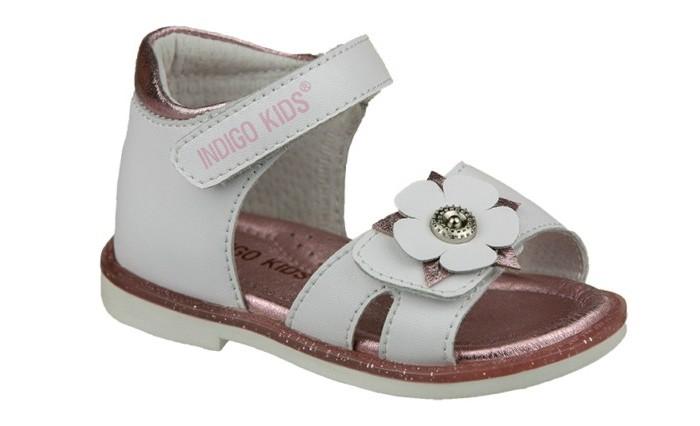 Босоножки и сандалии, Indigo kids Сандалии для девочки 21-428  - купить со скидкой