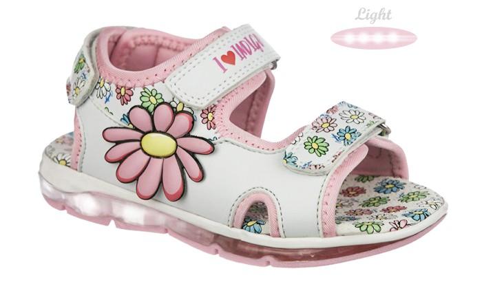Купить Босоножки и сандалии, Indigo kids Сандалии для девочки 22-139