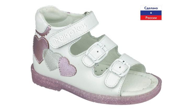 Купить Босоножки и сандалии, Indigo kids Сандалии для девочки 23-044