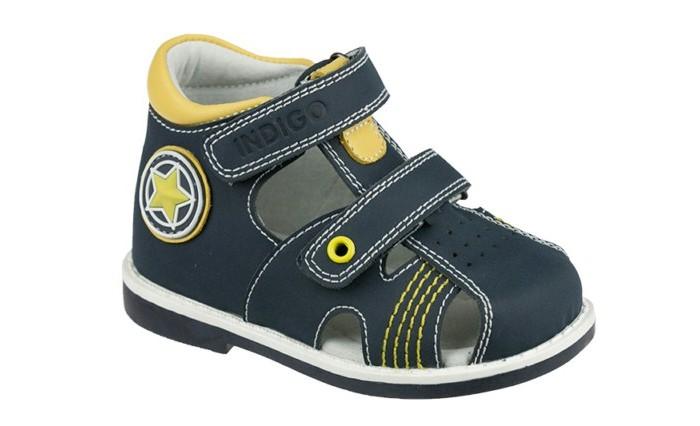 Купить Босоножки и сандалии, Indigo kids Сандалии для мальчика 21-543