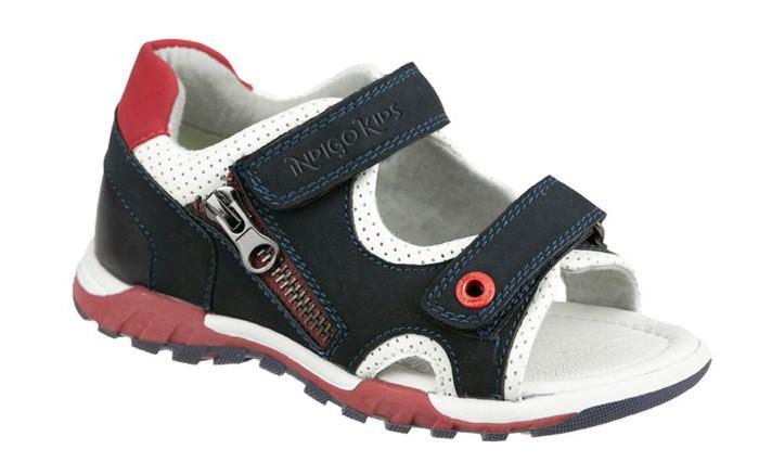 Босоножки и сандалии Indigo kids Сандалии для мальчика 21-558 коляска 2 в 1 indigo indigo 18 special sp 15 черная кожа