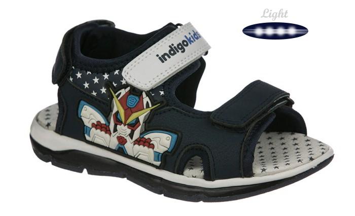 Босоножки и сандалии Indigo kids Сандалии для мальчика 22-137 коляска 2 в 1 indigo indigo 18 special sp 15 черная кожа