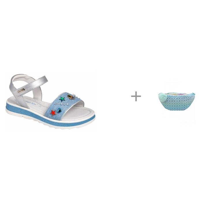 Купить Босоножки и сандалии, Indigo kids Сандалии летние открытые 20-450B и Сумочка поясная Geometry Mihi Mihi