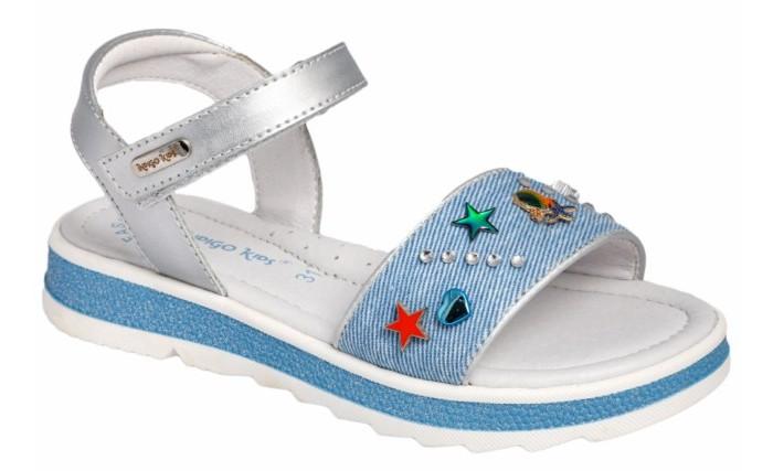 Купить Босоножки и сандалии, Indigo kids Сандалии летние открытые 20-450B
