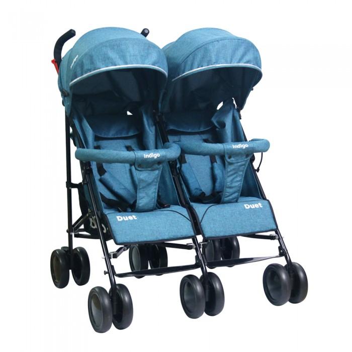 коляски для двойни и погодок Коляски для двойни и погодок Indigo Коляска-трость для двойни Duet