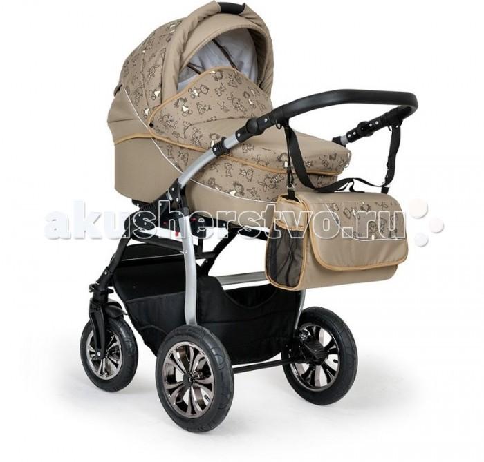 Коляска Indigo Charlotte F 3 в 1Charlotte F 3 в 1Коляска Indigo Charlotte F 3 в 1 модульная коляска в которую входит большая и глубокая люлька для малышей с рождения до 6-8 месяцев, большой и удобный прогулочный блок для детей до 3-4 лет и детское автокресло группы 0+ с рождения до 13 кг. Коляска удобная и практичная с яркими расцветками и интересным дизайном. Большие надувные колеса  с отличной амортизацией.  Коляска выполнена из качественных и проверенных материалов, поэтому прогулки с малышом будут не только удобными, но и безопасными  Люлька: Материал коляски –ткань. Вместительная цельнопластиковая люлька Дно жесткое  В люльке несколько положений наклона подголовника Солнцезащитный козырек Вентиляционное окошко  Ручка для переноски люльки Функция укачивания Матрасик Люльку можно использовать в качестве переноски Прогулочный блок для детей от 6 месяцев до 3 лет: Устанавливается по ходу и против хода движения Несколько положений наклона спинки в том числе полностью горизонтальное 5-ти точечные ремни безопасности с мягкими накладками Большое и широкое спальное место Смотровое окошко для мамы Дополнительный капюшон для прогулочного блока Теплая накидка на ножки малыша Регулируемая подножка Мягкий разделитель для ножек Шасси и колеса: Компактное сложение по типу книжки Регулируемая по высоте кожаная ручка для мамы Система крепления One Touch System позволяет быстро и просто устанавливать и снимать люльку, прогулочный блок Большая и вместительная корзина для покупок Дополнительная амортизация на раме коляски Пружинная амортизация Передние колеса поворотные на 360 градусов с возможностью фиксации. Центральный тормоз  Колеса надувные резиновые с камерой, морозостойкие пластиковые диски В комплекте: Шасси Люлька для новорожденного малыша Прогулочный блок Автокресло Москитная сетка Дождевик 2 накидки на ножки Сумка для мамы Размеры коляски: Габариты (длина / ширина / высота, см): 102 / 60 / 117 Спальное место (см): 90 Вес люльки: 4,8 кг Вес прогулочного блока: 5 кг Вес 4-