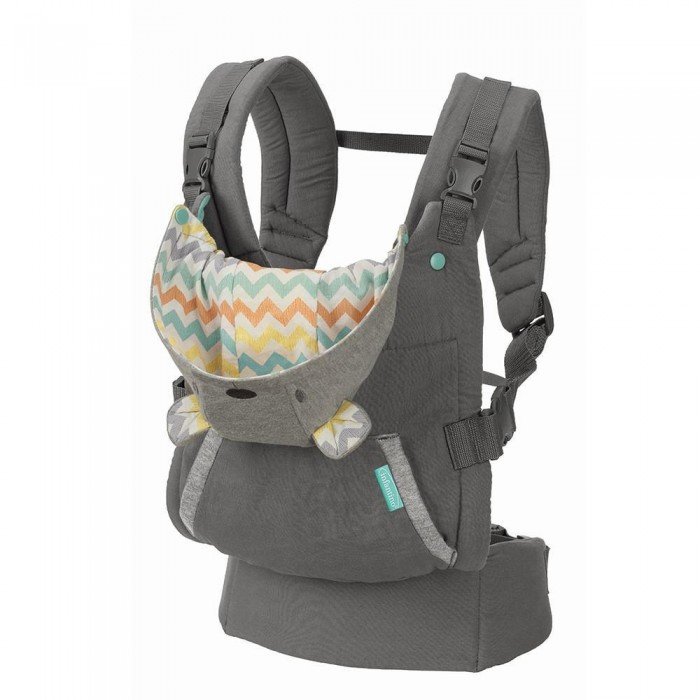 Рюкзаки-кенгуру Infantino Cuddle up ergonomic hoodie carrier