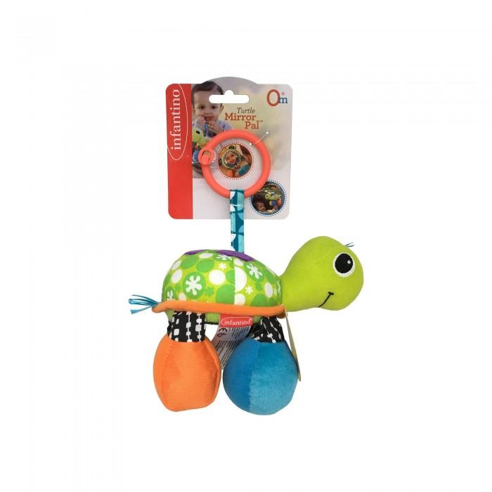 Подвесные игрушки Infantino Подвеска Черепашка черепашка нажимай и догоняй