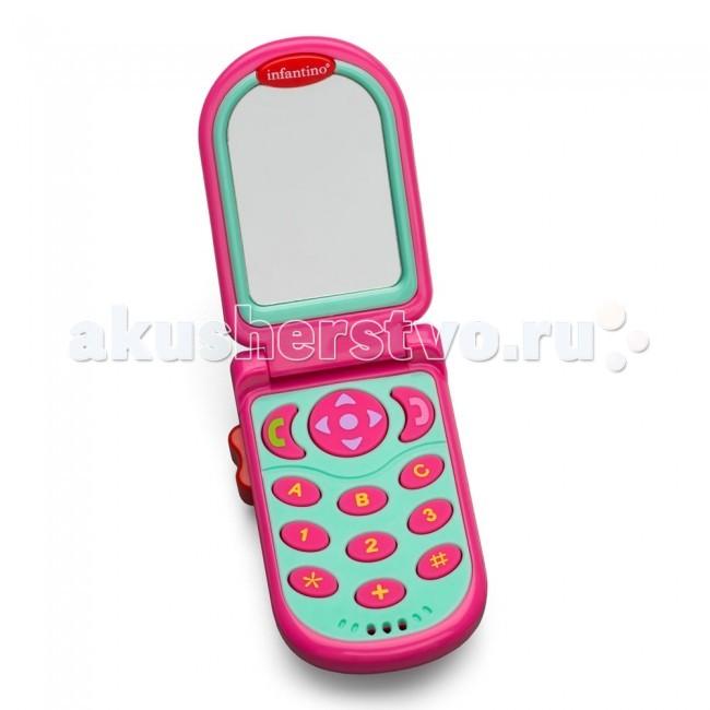 Электронные игрушки Infantino Развивающая игрушка Телефон телефон