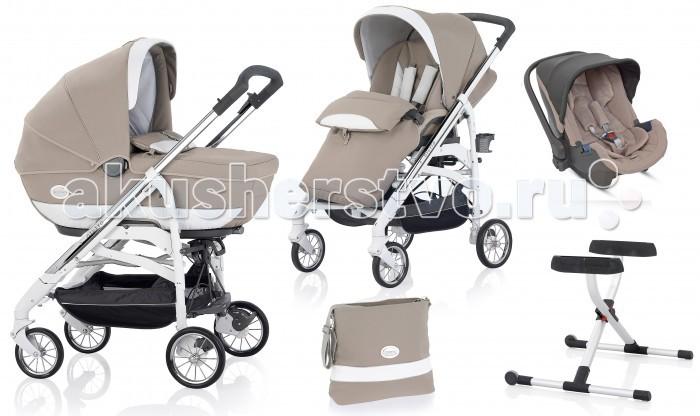 Детские коляски , Коляски 3 в 1 Inglesina Otutto Deluxe White 3 в 1 арт: 397764 -  Коляски 3 в 1