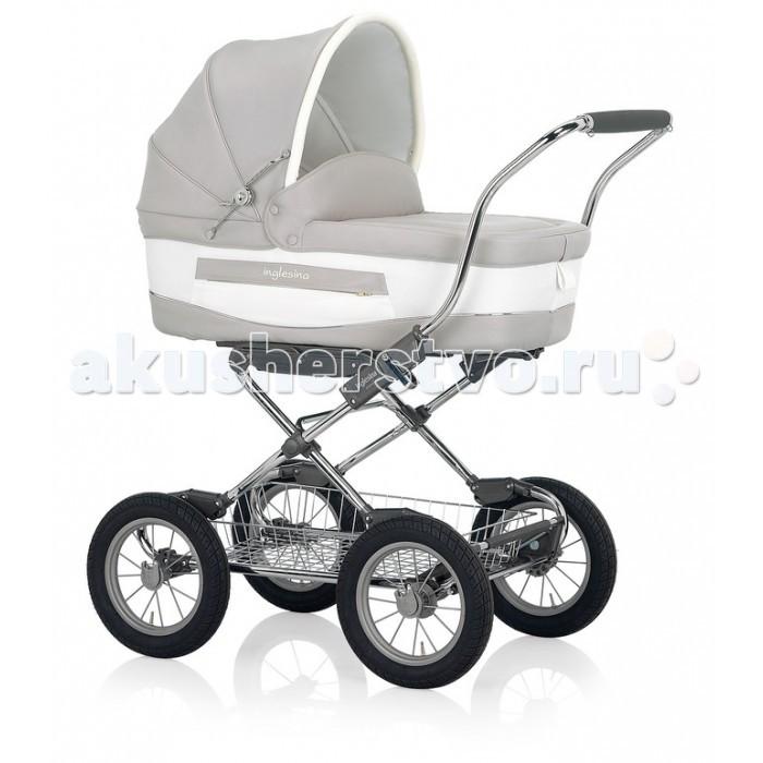 Детские коляски , Коляски-люльки Inglesina Vittoria на шасси Comfort Chrome Slate AE10E6100/B арт: 419169 -  Коляски-люльки
