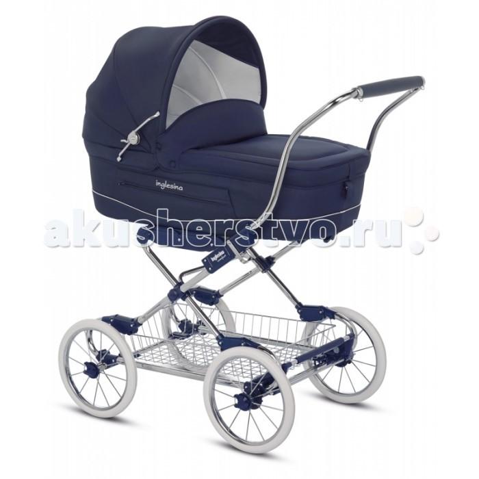 Детские коляски , Коляски-люльки Inglesina Vittoria на шасси Comfort Сhrome Blue AE10G1000 арт: 419179 -  Коляски-люльки