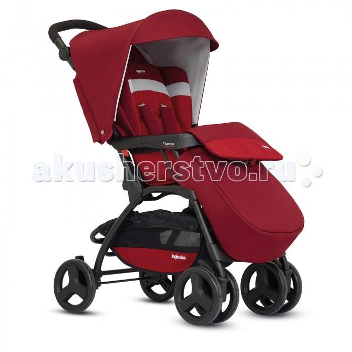 Прогулочная коляска Inglesina EspressoEspressoКомпактная прогулочная коляска Inglesina Espresso гарантирует ребенку максимальный комфорт. Маме и папе прекрасные прогулки благодаря хорошей управляемости. Регулируемая по высоте ручка адаптируется к росту родителей, открывающийся бампер дает возможность легко посадить ребенка в коляску.  Благодаря системе складывания по типу книжки Espresso очень компактна и проста в транспортировке.  Прогулочный блок: предназначен для детей от 6 месяцев до 3-х лет мягкое сиденье 3 позиции регулировки спинки до 160 градусов 5-точечный ремень безопасности с мягкими накладками. Спинка регулируется в 3 позициях и имеет центральную систему регулировки  Вес: 8.6 кг.  Внимание! В моделях 2016 года нет кармана сзади!<br>