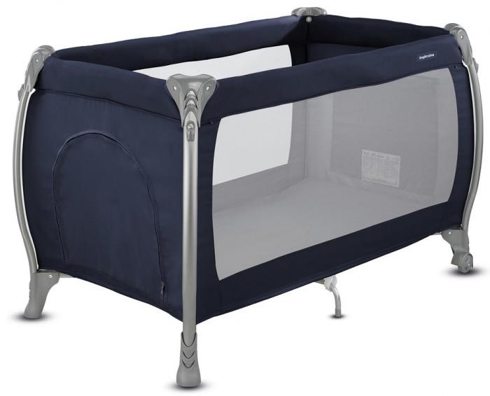 Манеж Inglesina LodgeLodgeМанеж Inglesina Lodge  Lodge — стильная и практичная кроватка для путешествий.  Благодаря удобству, легкости, разнообразию функциональных возможностей, простоте линий и ярким цветам эта кроватка становится инновационным дополнением любой обстановки.  Особенности: подходит для детей от рождения и до 3 лет( весом до 14 кг) регулируется по высоте, 2 положения  система складывания - зонт  легко перемещается по квартире при помощи 2-х колес  боковой карман для мелочи с несколькими отделениями  стены из плотной сетки  в центре расположена еще одна ножка для повышения устойчивости кровати боковая дверца на молнии   Габариты в сложенном состоянии(вxшxг): 26x79x26 см.  Габариты с разложенном состоянии(вxшxг): 79x126x72 см.  Вес: 10 кг.   Комплектация: кроватка  основание под матрас  матрас  опоры для верхнего яруса  трубы для дна верхнего яруса  москитная сетка  сумка для транспортировки кроватки  боковой карман<br>