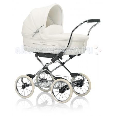Детские коляски , Коляски-люльки Inglesina Vittoria на шасси Comfort Chrome Slate AE10E6100 арт: 6735 -  Коляски-люльки