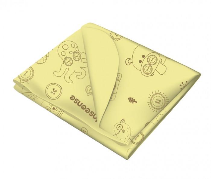 Детские клеенки Inseense Клеенка подкладная с ПВХ-покрытием без обработки тесьмой 50x70 см
