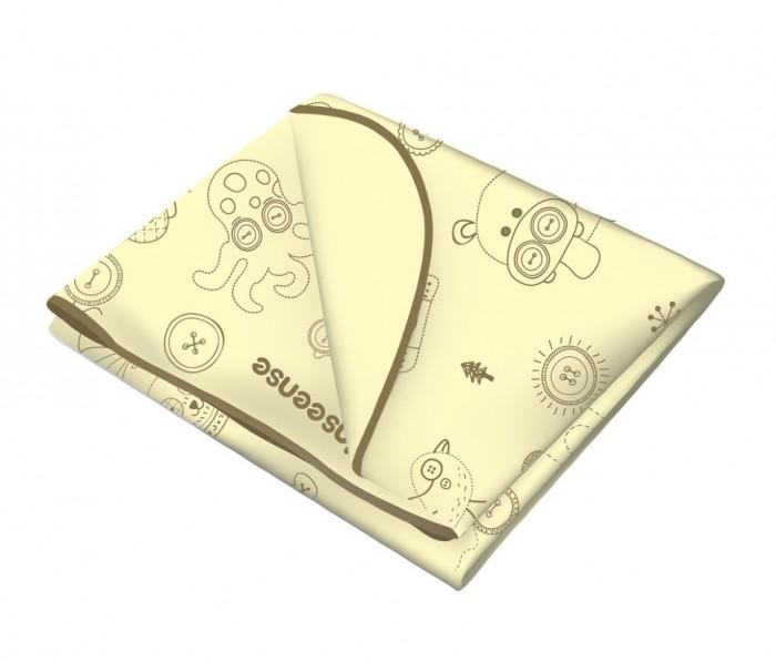 Детские клеенки Inseense Клеенка подкладная с ПВХ-покрытием c обработкой тесьмой 50x70 см