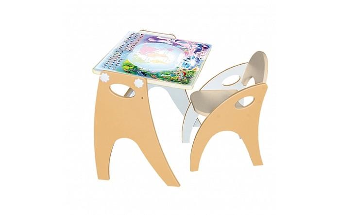 Интехпроект Набор мебели Части света парта-мольберт и стульчик