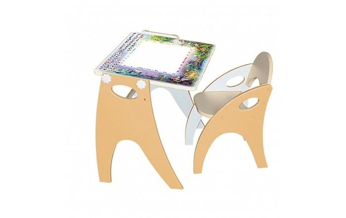 Интехпроект Набор мебели парта-мольберт и стульчик