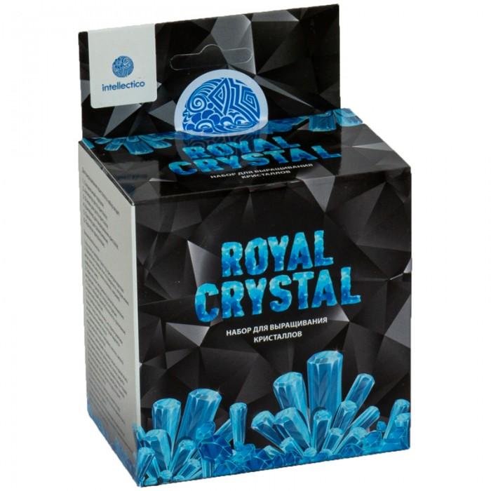 Наборы для опытов и экспериментов Intellectico Набор для выращивания кристаллов Royal Crystal