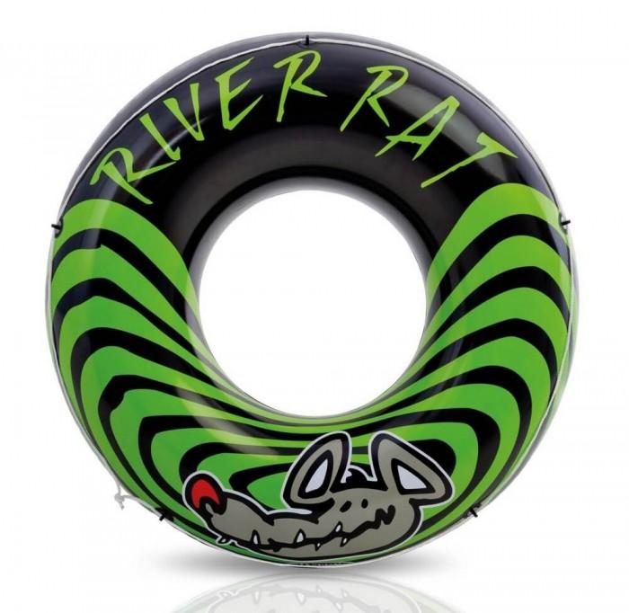 Круги и нарукавники для плавания Intex Круг River Rat 122 см круги и нарукавники для плавания intex надувной круг кристальный 114 см