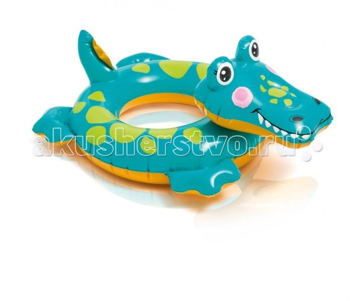 все цены на  Круги и нарукавники для плавания Intex Круг Зверюшка 58221NP  онлайн