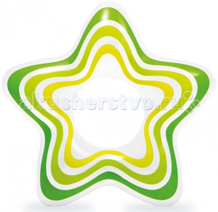 Круги и нарукавники для плавания Intex Надувной круг Звезда круги и нарукавники для плавания intex круг детский с ручками пират 107 см