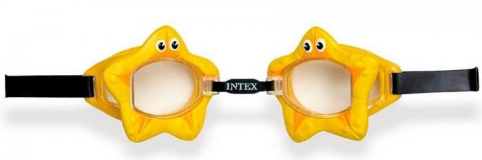 Очки, маски и трубки для плавания Intex Очки для плавания с55603 intex спортивных очков для плавания