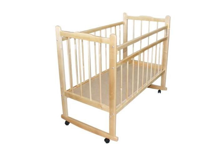 Детские кроватки Уренская мебельная фабрика Мишутка 14 качалка обычная кроватка уренская мебельная фабрика мишутка 14 светлая ящик