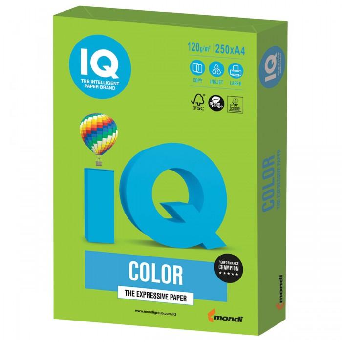 IQ Color Бумага цветная Интенсив А4 120 г/м2 250 листов