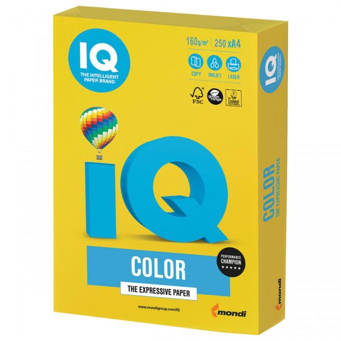 IQ Color Бумага цветная Интенсив А4 160 г/м2 250 листов