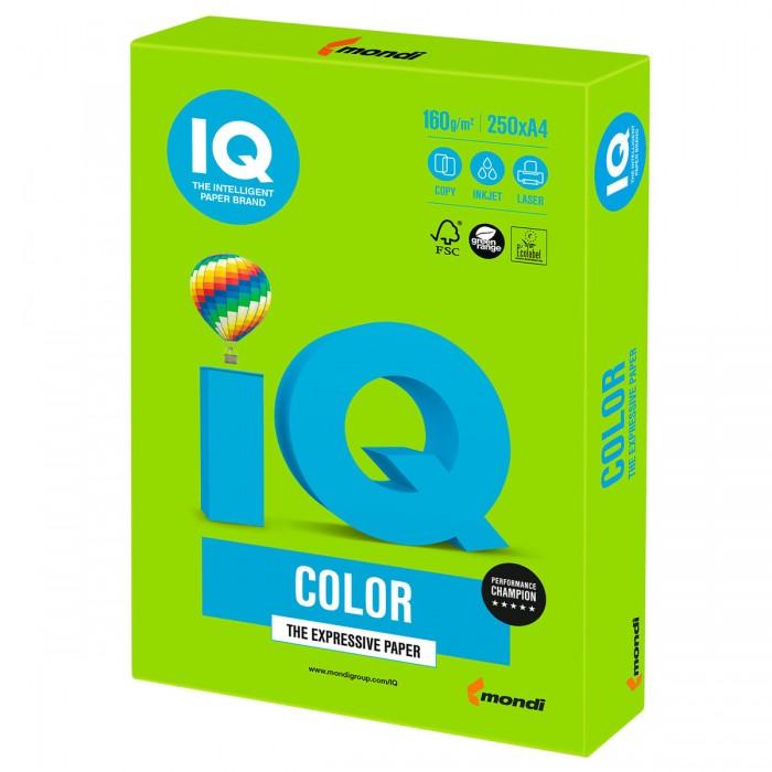 IQ Color Бумага цветная Интенсив А4 250 листов