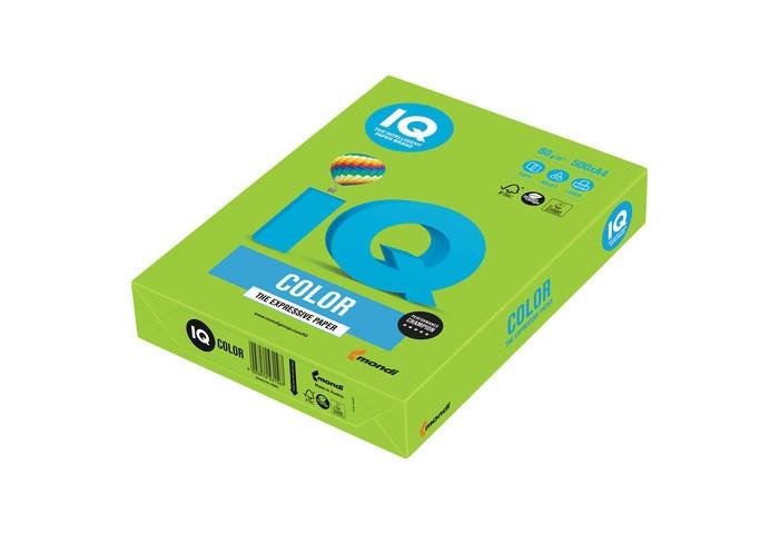 Канцелярия IQ Бумага цветная Интенсив А4 500 листов канцелярия xerox performer бумага а4 500 листов