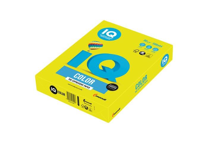 IQ Color Бумага цветная Неон А4 500 листов