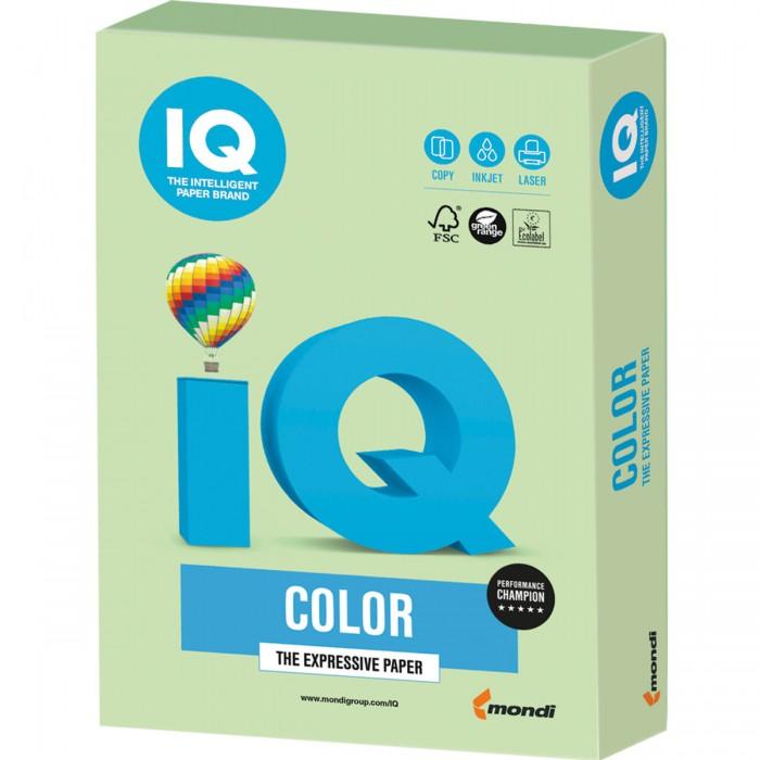 Фото - Канцелярия IQ Бумага цветная Пастель А4 250 листов бумага цветная index color 80гр а4 5х50 55 85 93 59 45 250л