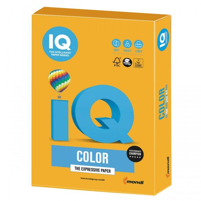 Фото - Канцелярия IQ Бумага цветная Тренд А4 250 листов бумага цветная index color 80гр а4 5х50 55 85 93 59 45 250л